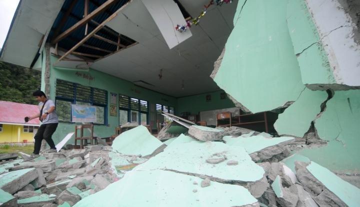 Foto Berita BPBD: 109 Rumah Rusak Akibat Gempa Tasikmalaya