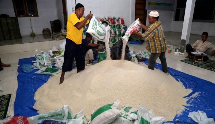 Foto Berita Januari 2018, Bulog Harap Beras Bukan Penyumbang Inflasi di Sumut