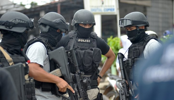 densus 88 kembali tangkap 4 terduga teroris di tangerang