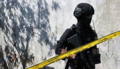 Foto Densus Sita 4 Bom di Universitas Riau