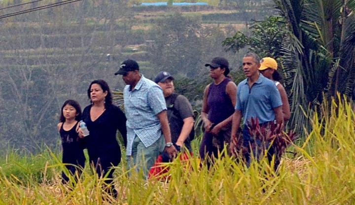 Foto Obama Akui Kagum Dengan Candi Borobudur