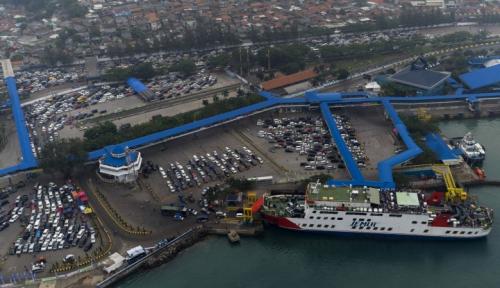Foto Hadapi Persaingan Global, Pelayanan Pelabuhan Merak Ditingkatkan