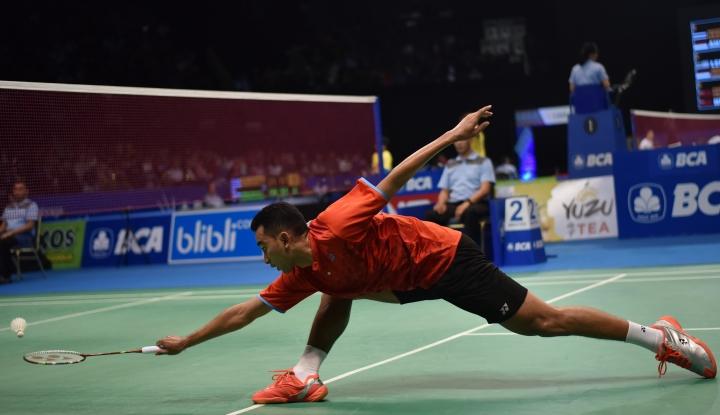 Foto Berita Piala Thomas: Indonesia Hempaskan Permainan Kanada