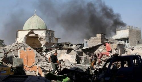 Foto Ada Masjid Dihancurkan di Sri Lanka, Demi Apa?