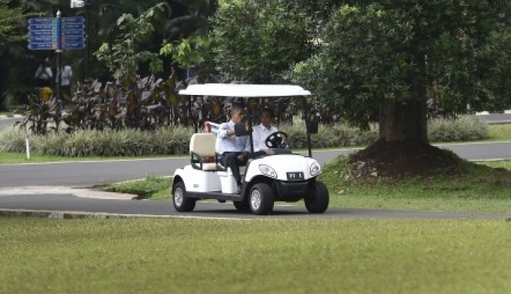 Foto Berita Hubungan Jokowi-Trump Tak Semesra Susilo-Obama