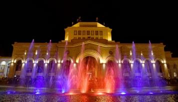 Foto Mengintip Kota Serba Pink di Armenia