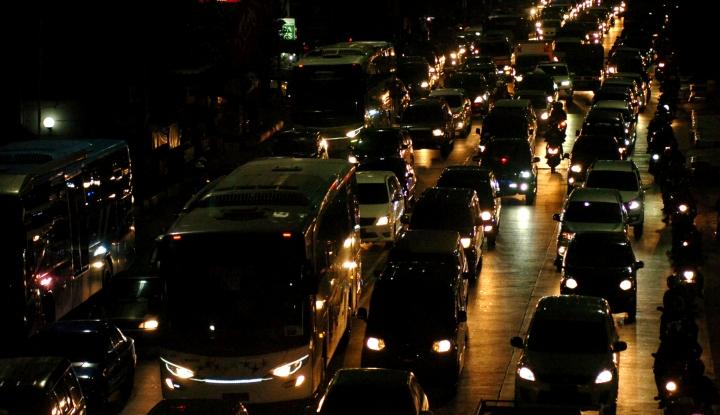 Foto Berita Arus Balik di Sumut, 24.342 Pemudik Gunakan Bus