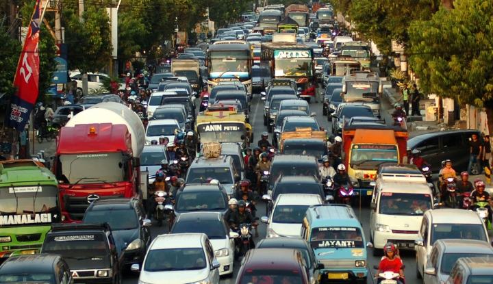 Foto Berita Benarkah Kemacetan Mudik Bergeser ke Semarang?