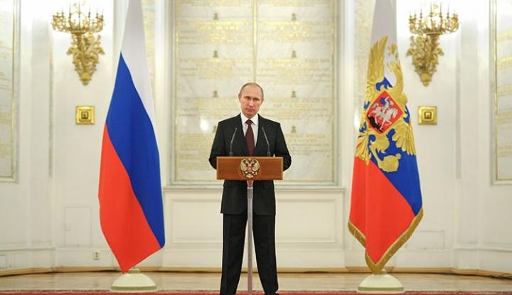 Foto Berita Putin: Rusia Punya Rudal yang Mampu Jangkau Seantero Dunia