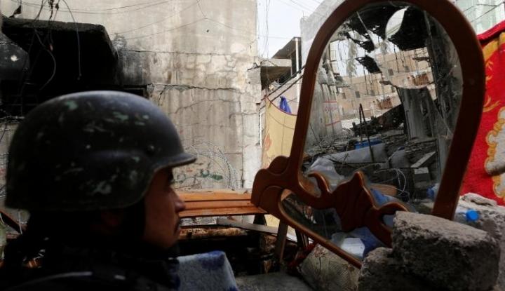 Foto Berita Garda Revolusi Iran Baku Tembak dengan Islamic State