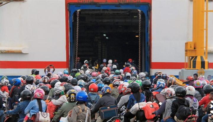 Foto Berita Okupansi Kapal Mudik Capai 90%