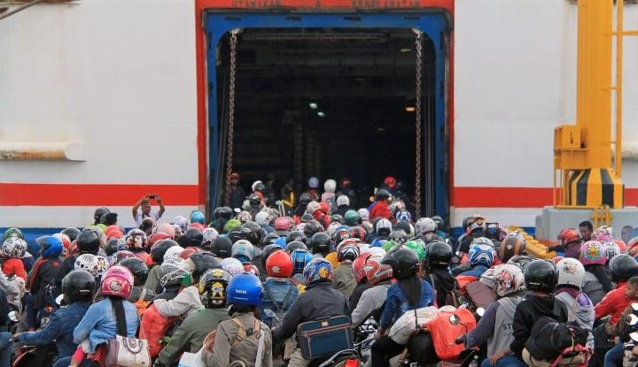 okupansi kapal mudik capai 90%