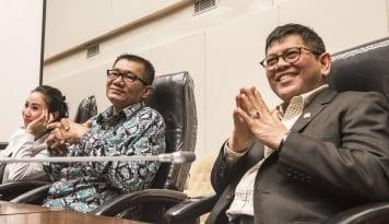 Foto Pansus Angket: Amien Rais Datang Atas Inisiatif Pribadi Bukan Atas Undangan Pansus
