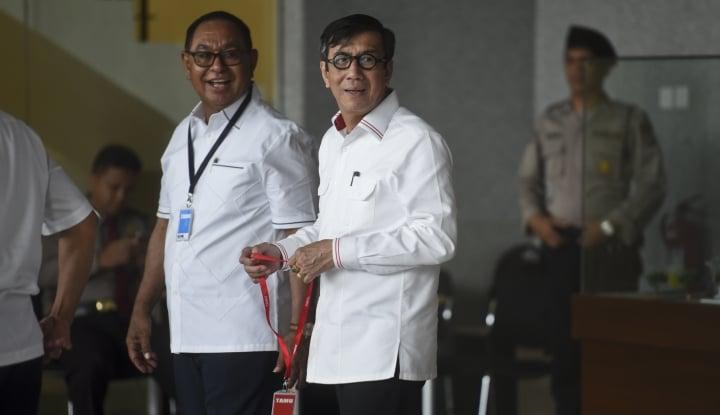 Foto Berita Yasonna Mengaku Tak Kenal Keponakan Papa Novanto