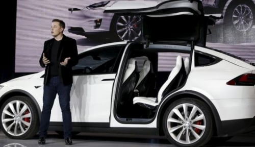 Foto Tesla Siap Rakit Mobil di China