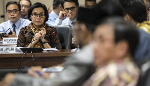 Foto Sri Mulyani Minta Dukungan DPR Wujudkan Reformasi Perpajakan