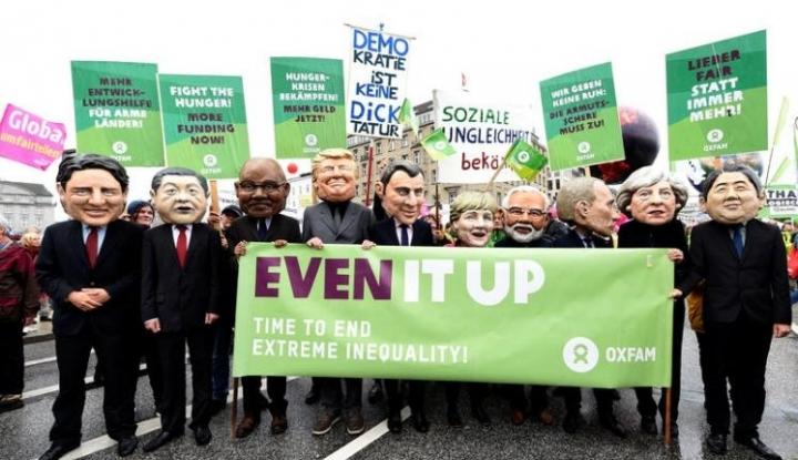 Aksi Ribuan Demonstran Sambut Jelang Forum G20 di Jerman - Warta Ekonomi