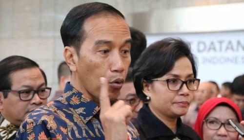 Foto Presiden Jokowi Imbau RUU Pemilu Tak Boleh Rugikan Partai