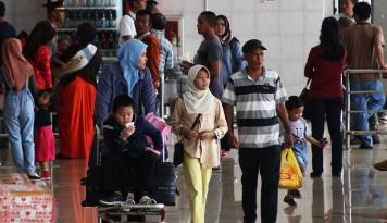Foto Libur Lebaran Selesai, Jakarta Kembali Normal (1)