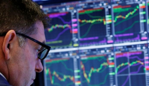 Foto Wall Street Turun di Tengah Keputusan The Fed dan Data Ekonomi