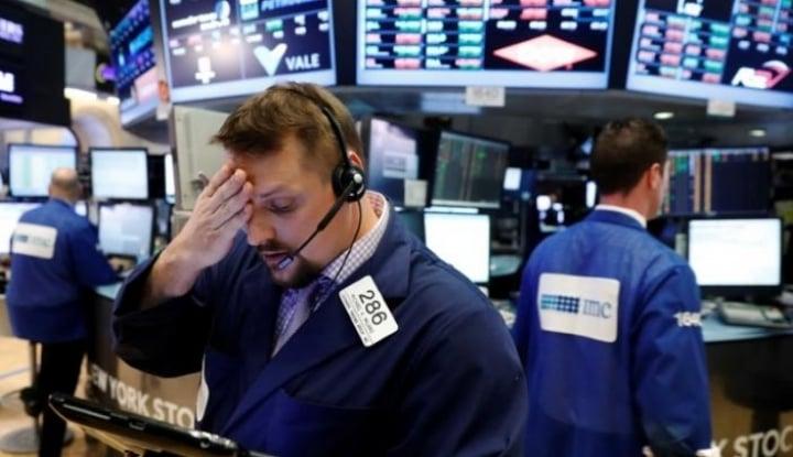 Foto Berita Aksi Penjualan Saham Dunia Tembus $4 Triliun