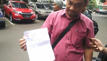 Foto Pekerja Surat Kabar Sindo Ajukan Tuntutan ke Kemenaker