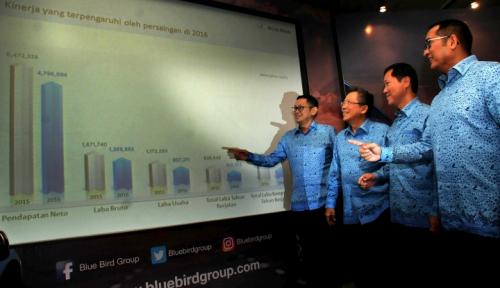 Foto Blue Bird Dapat Fasilitas Utang Rp1 Triliun dari Bank Sumitomo