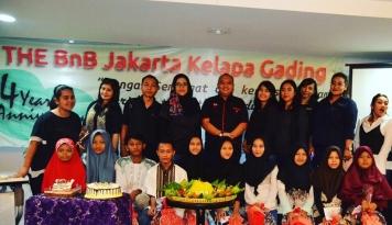 Foto Hotel THE BnB Jakarta Kelapa Gading Rayakan Ulang Tahun Ke-4