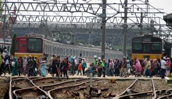 Foto Jakarta Terpantau Mulai Ramai Lagi
