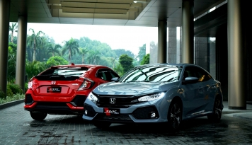 Foto Dalam Dua Minggu, Honda Civic Hatchback Turbo Terjual 300 Unit