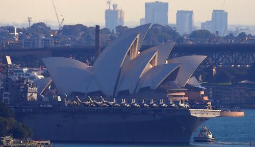 Foto Australia Gandeng IBM Kembangkan Platform Blockchain Nasional