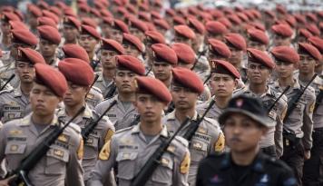 Foto 2.168 Personel TNI-Polri Dikerahkan ke Medan, Ada Apa Ya?