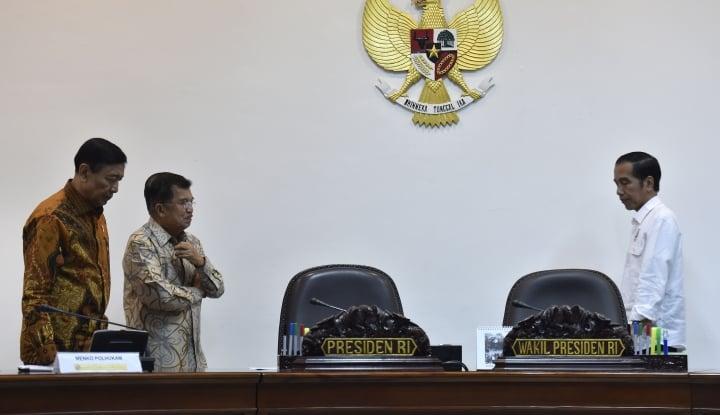 Foto Berita Wiranto Tolak Jawab Cawapres Jokowi, Bukan Cak Imin?