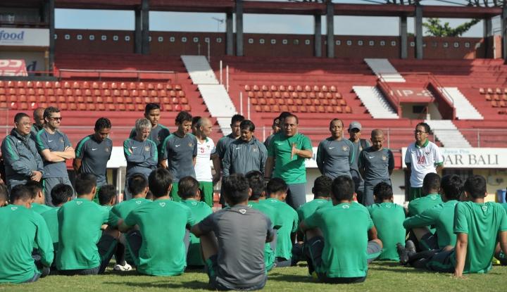Foto Timnas Sepak Bola Ditargetkan Tembus Semifinal