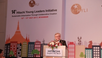 Foto Hitachi Meluncurkan Hitachi Young Leaders Initiative (HYLI) Ke-14