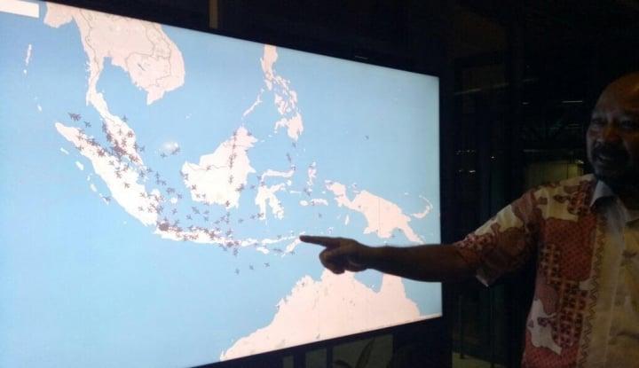 Foto Berita Restrukturisasi Ruang Udara Indonesia Timur Mulai Dipakai saat Angkutan Natal