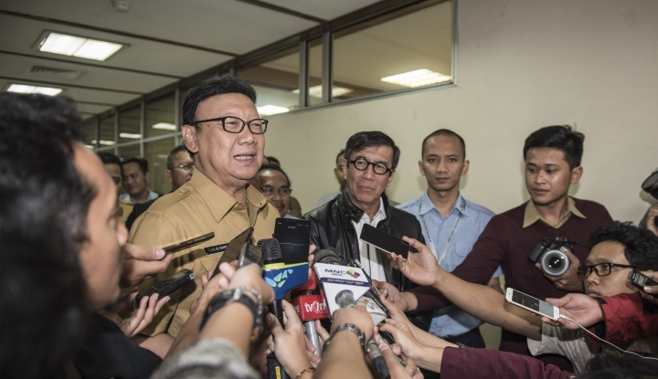 Foto Berita Mendagri: Pelantikan Kepala Daerah Tunggu Sengketa Pilkada