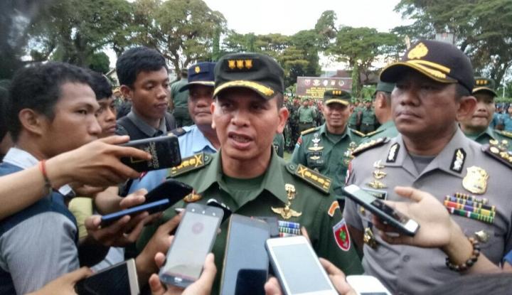 Foto Berita Jokowi ke Makassar, TNI-Polri Siagakan Ribuan Personel