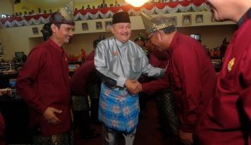 Foto HUT RI Ke-72, Gubernur Sumsel Optimistis Indonesia Dapat Lewati Masa Sulit