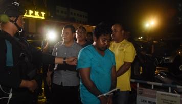 Foto Polisi Tetapkan Domaince Jadi DPO Kasus Pembacokan Ahli IT