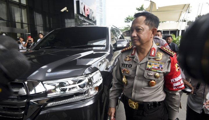 Foto Berita Kapolri: Hati-hati Periksa Pimpinan KPK