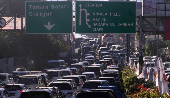 Foto Berita Polri Pastikan Pengamanan Jalur Puncak