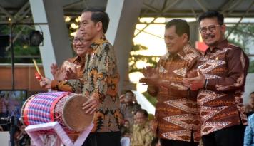 Foto Presiden Jokowi Dijadwalkan Hadir di Lebaran Betawi 2017