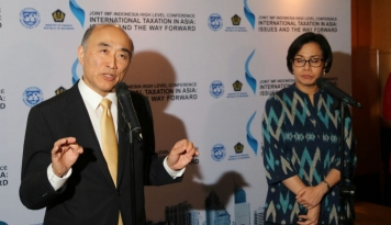 Foto Persiapan Pertemuan IMF-World Bank Sudah 90%