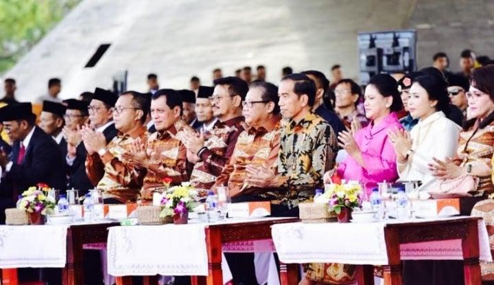 Foto Berita Presiden Jokowi Puji Pesatnya Pertumbuhan Ekonomi Sulsel