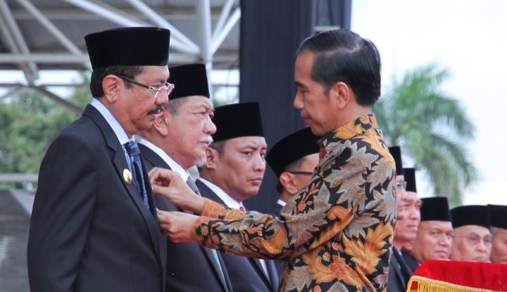 gubernur sumut dapat anugerah bidang ukm dari presiden