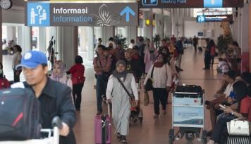 Foto Aktivitas Bandara Pangkalpinang Melonjak 20% Selama Perayaan Imlek