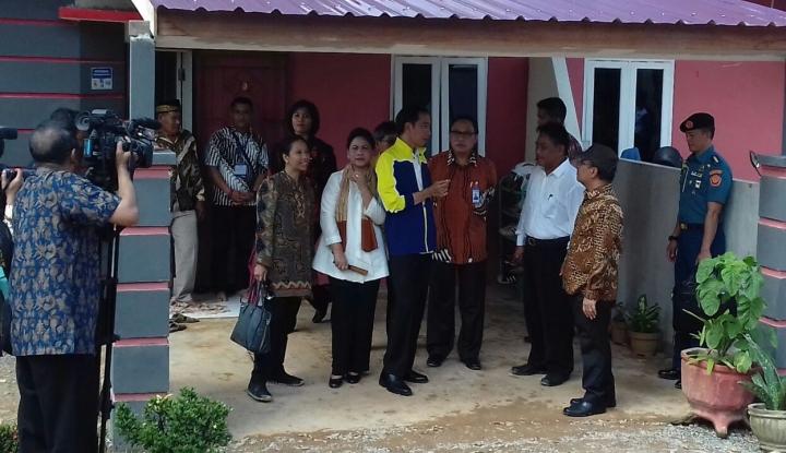 Foto Berita Presiden Jokowi Minta Pengembang Pastikan Pembeli Rumah Murah Harus MBR