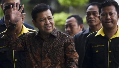 Foto Setya Novanto Lanjutkan Pemeriksaan Kasus e-KTP