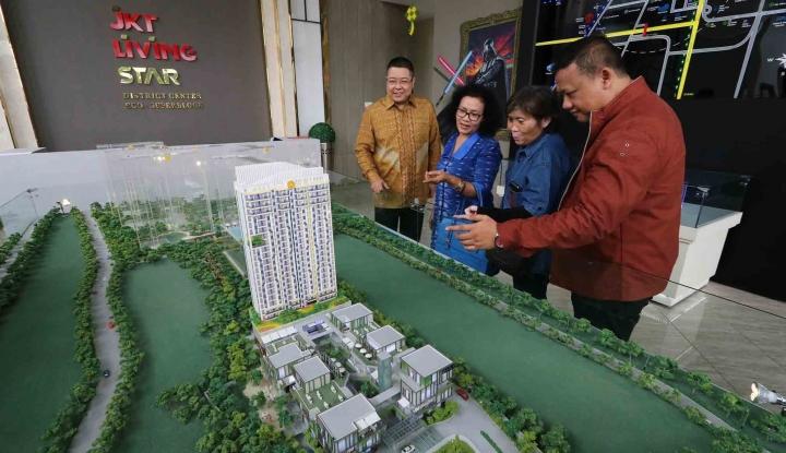 Foto Berita JKT Living Star Tawarkan Apartemen Seharga Rp260 Juta/Unit